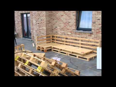Comment construire jardin sur lev la r ponse est sur - Construire salon de jardin palette ...