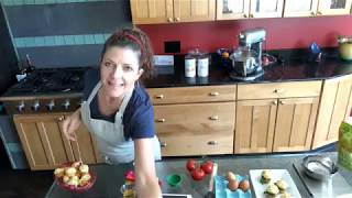 gfJules shows how to make light & airy gluten free hamburger buns