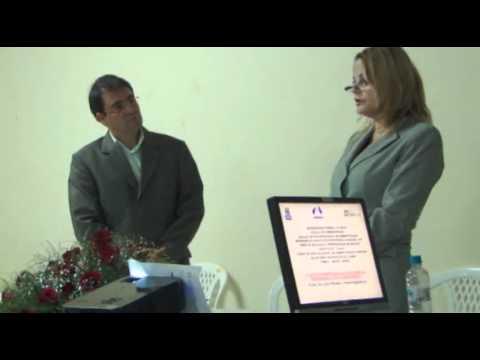 Aula inaugural do Curso Especialização em Administração Hospitalar no HGPV em Jequié-BA