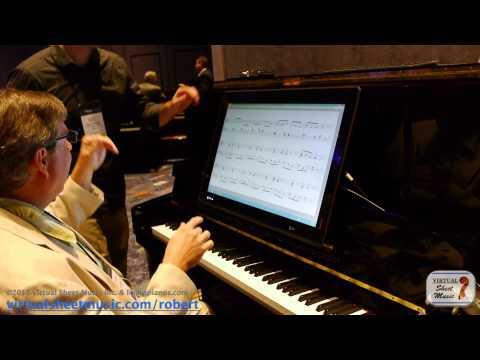 NAMM 2014 - Interview with Joel Shifflet from Piano Marvel