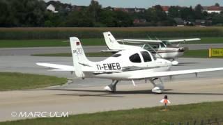 Cirrus SR20 G3 Take Off Augsburg Airport