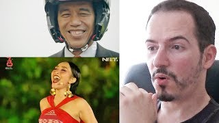Video CUPLIKAN KEMERIAHAN ASIAN GAMES 2018 OPENING CEREMONY - REACTION + REVIEW MP3, 3GP, MP4, WEBM, AVI, FLV Mei 2019