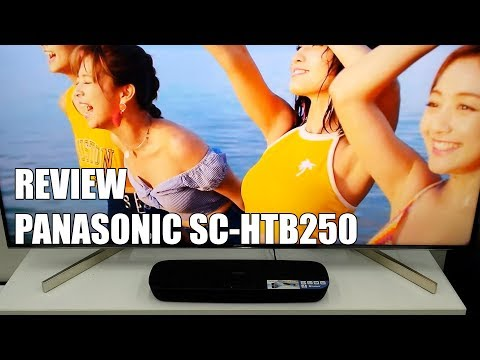 Review Panasonic SC-HTB250 Nueva Barra de Sonido Bluetooth 2018