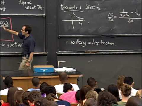 Vorlesung 1 vom MIT am 18,01.2007: Berechnung einer singulären Variablen. Wintersemester 2007