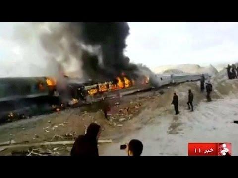 Σιδηροδρομική τραγωδία στο Ιράν