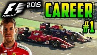Video F1 2015 VETTEL CAREER MODE PART 1: AUSTRALIA MP3, 3GP, MP4, WEBM, AVI, FLV September 2018