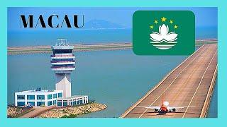 Macau Macao  city images : Landing in Macau at the International Airport (Macao, China)