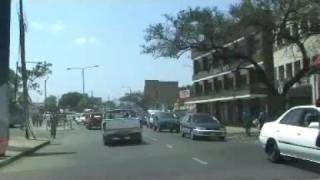 This drive will take you though the three main streets in The triangular City of Blantyre.