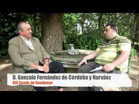 Entrevistamos al Conde de Gondomar.