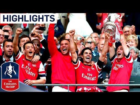 2014 英格蘭足總盃決賽 阿仙奴 3 - 2 侯城 精華+慶祝重溫