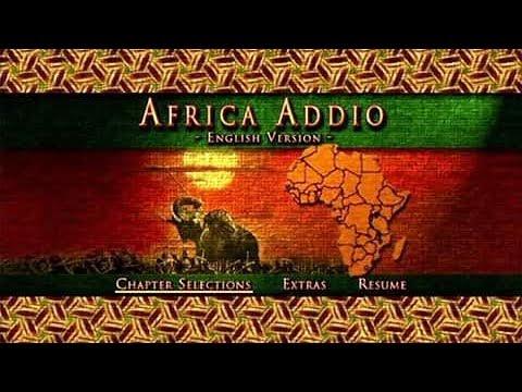 Addio Africa (English version)