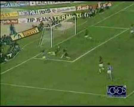 leggendario goal di maradona al milan