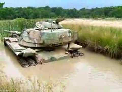 Tank Stuck In Mud
