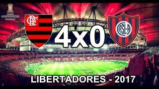 Jogo válido pela 1ª rodada do grupo 4 da copa Libertadores da América - 2017. Facebook - https://www.facebook.com/CantosFla/...