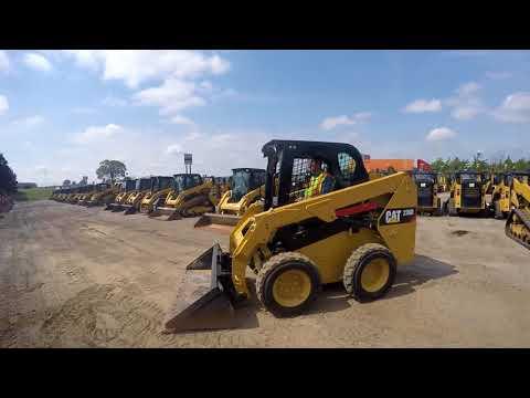 CATERPILLAR SKID STEER LOADERS 236D equipment video 7KCQaq4sdwI