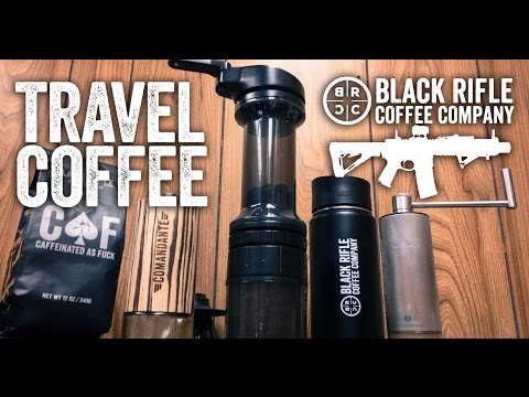Coffee On The Go | Black Rifle Coffee Hand Grinder Review: Part 1