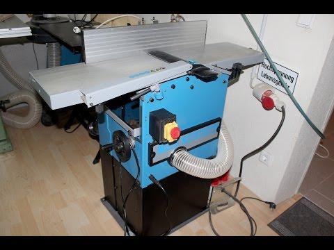 Hobelmaschine Güde GADH 254 Abricht- und Dickenhobel  / Jointer Planer