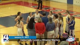 Caston Girls Basketball vs. Winamac