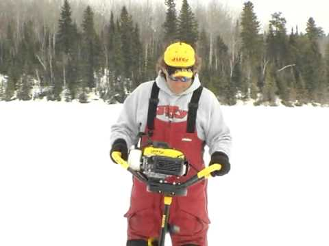 Jeff Kelm - Introduction to the New Jiffy Ice Drill's 4G gasoline 4-stroke ice drill and The Jiffy Pro4 propane powered ice drill. The 4G is all new for the 2012-13 ice ...