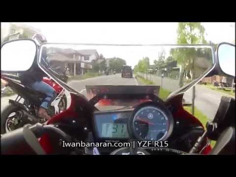 High Revs Yamaha YZF R15 adventure 1200km (Sabang-Medan) Indonesia