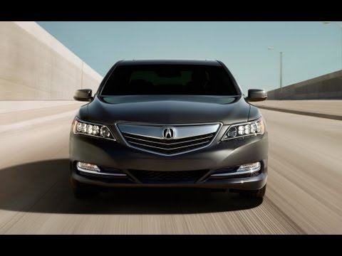 2014 Acura RLX 0-60 MPH Drive & Review: The Return Of All-Wheel-Steering