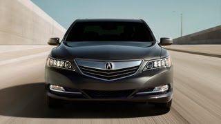 2014 Acura RLX 0-60 MPH Drive&Review: The Return Of All-Wheel-Steering