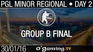 Final group B - PGL Regional Minor Championship: Europe D2 - Groupe B
