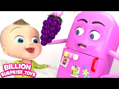 Johny Johny Yes Papa - REFRIGERATOR Remix Songs for Kids | Nursery rhymes