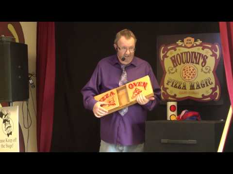 The Comedy Magic of BJ ODOM - - (Pizza Trick)
