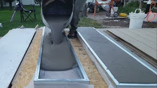 Video Pouring Air Crete Panels for Shed MP3, 3GP, MP4, WEBM, AVI, FLV Agustus 2018