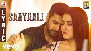 Saayaali Song Lyrics