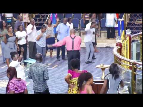 Prophet Victor Kusi Boateng In Cathedral, Action Chapel International Day 2