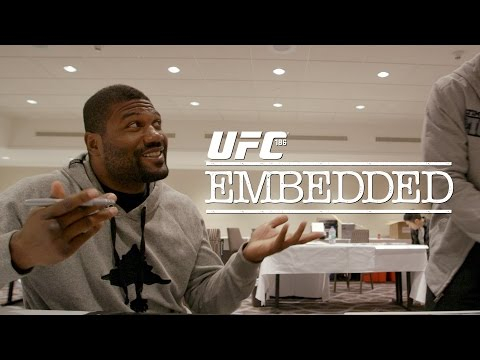 UFC 186 Embedded: Vlog Series – Episode 1