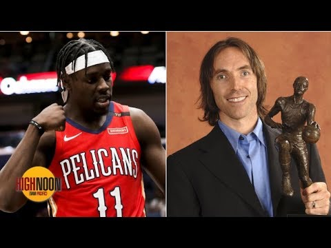 Video: Jrue Holiday can be an MVP like Steve Nash, according to Pelicans EVP David Griffin   High Noon