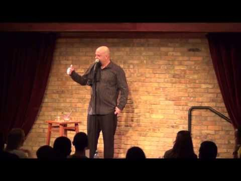 Comedian Bill Blank - My first joke