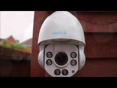 Hands-on Review - Reolink RLC-423 - PTZ in action