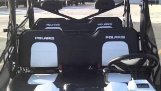 5. 2012 Polaris Ranger Crew 800 EPS Pearl White LE