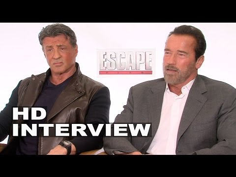 Escape Plan: Sylvester Stallone & Arnold Schwarzenegger Official Movie Interview (Junket)