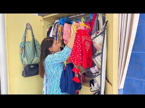 👀देखो आज Summer 🌞के लिए पूरी Wardrobe बदल डाली🌺🌼🌸 || Indian Mom Studio