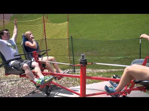 The Twin Spin at Bromley Mountain!