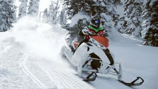 8. 2012 Arctic Cat F1100 Turbo Sno Pro Limited Snowmobile Review