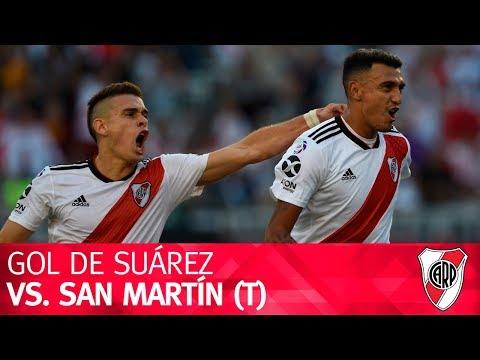 Gol de Matías Suárez vs. San Martín (T)