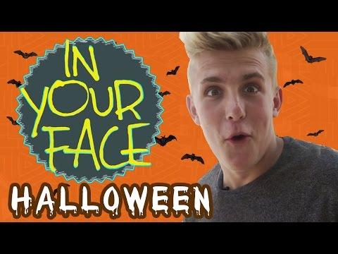 Edition - FRED and Jake Paul (www.youtube.com/JakePaulProductions) take the the streets again in this special Halloween edition of In Your Face. Ghosts, vampires, and werewolves abound. Who will triumph: ...