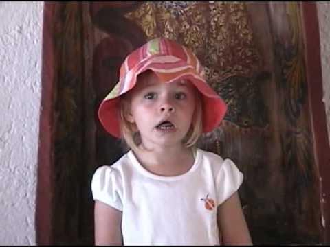 """3 Yr. Old Sophia Sings """"Tinkle Tinkle"""" Little Star - Twinkle Twinkle ..."""