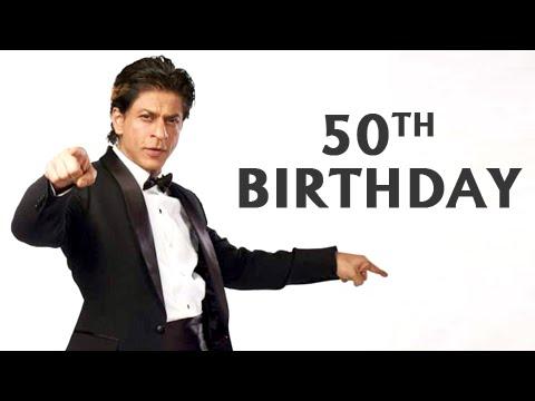 Shah Rukh Khan Turns 50 - Birthday Plans