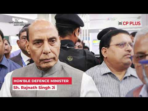 CP PLUS Principal Partner of India International Security Expo 2019