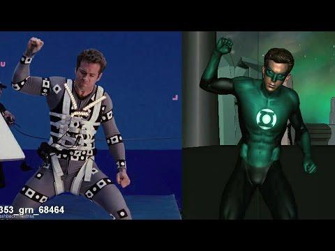 Animated Skinsuit 'Green Lantern' Featurette [+Subtitles]