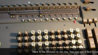 Divide by Zero on the Friden STW10 Mechanical Calculator