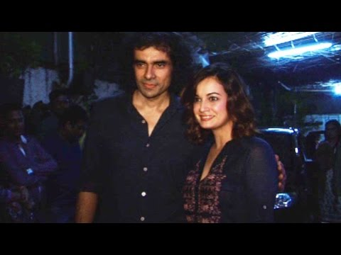 Dia Mirza, Imtiaz Ali And Others At The Screening