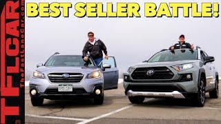 We Drive and Compare Subaru's and Toyota's Top-Selling Cars to Decide Which One is Best! by The Fast Lane Car